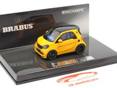 Smart Brabus Ultimate 125 E Concept Car IAA 2017 giallo 1:43 Minichamps
