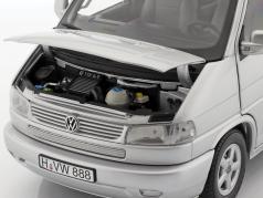 Volkswagen VW T4b Caravelle silver 1:18 Schuco