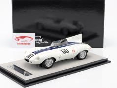 Jaguar D-Type #60 winnaar Watkins Glen GP 1955 Johnston 1:18 Tecnomodel