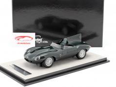 Jaguar D-Type presse version 1957 Britanique courses vert 1:18 Tecnomodel