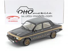 Renault R12 Alpine Bouwjaar 1978 zwart / goud 1:18 OttOmobile