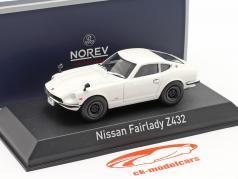 Nissan Fairlady Z432 Byggeår 1969 hvid 1:43 Norev