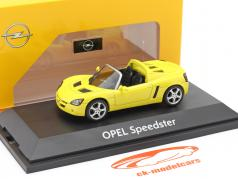 Opel Speedster 黄色 1:43 Schuco