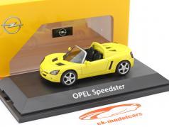 Opel Speedster amarelo 1:43 Schuco