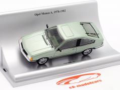 Opel Monza A 建设年份 1978-1982 绿色 金属的 1:43 Schuco