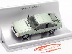 Opel Monza A Anno di costruzione 1978-1982 verde metallico 1:43 Schuco
