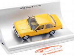 Opel Ascona B 4-deurs Bouwjaar 1975-1981 oranje 1:43 Schuco