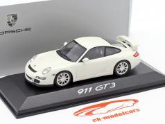 Porsche 911 (997) GT3 Mk1 year 2006 white 1:43 Minichamps