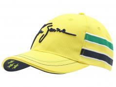 Ayrton Senna Casque Cap Conception