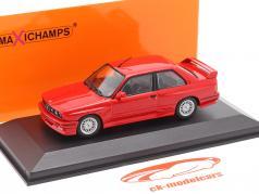 BMW M3 (E30) bouwjaar 1987 rood 1:43 Minichamps