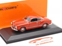 Volkswagen VW Karmann Ghia Coupe Baujahr 1955 rot 1:43 Minichamps