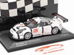 Porsche 911 (991) GT3 R #911 Presentation Car 2015 1:43 Minichamps