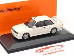 BMW M3 (E30) Année de construction 1987 blanc 1:43 Minichamps