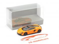 McLaren 570 GT Baujahr 2016 orange 1:87 Minichamps