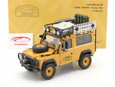 Land Rover 90 Camel Trophy Borneo 1985 gelbbraun 1:18 Almost Real