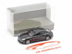 Porsche Panamera 4S Baujahr 2015 grau metallic 1:87 Minichamps