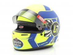 Lando Norris McLaren MCL35 #4 式 1 2020 头盔 1:2 Bell