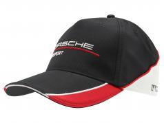 Porsche Motorsport Baseball-Cap nero / rosso / bianca