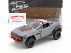 Letty's Local Motors Rally Fighter Fast and Furious 8 2017 cinza 1:24 Jada Toys