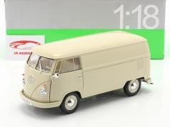 Volkswagen VW T1 Bus jaar 1963 crème 1:18 Welly