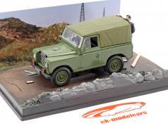 Land Rover Series III James Bond Movie Car Der Hauch des Todes braun 1:43 Ixo