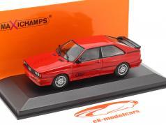 Audi Quattro Année de construction 1980 rouge 1:43 Minichamps