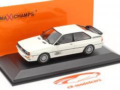 Audi Quattro Año de construcción 1980 Blanco 1:43 Minichamps