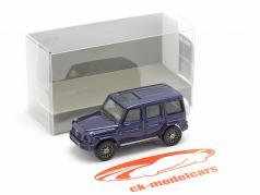 Mercedes-Benz G-Klasse (W463) Baujahr 2018 blau metallic 1:87 Minichamps