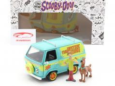 Van Mystery Machine mit Figuren Shaggy & Scooby-Doo 1:24 Jada Toys