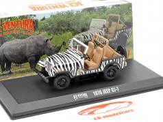 Jeep CJ-7 1976 Movie Ace Ventura - When Nature Calls (1995) black / white 1:43 Greenlight