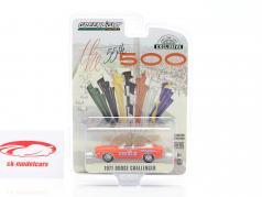 Dodge Challenger Convertible Pace Car 55º Indy 500 1971 laranja 1:64 Greenlight
