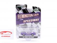 Dodge Challenger Convertible Pace Car Flemington Fair Speedway 1971 roxa 1:64 Greenlight