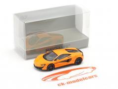McLaren 570 S Année de construction 2016 Orange 1:87 Minichamps