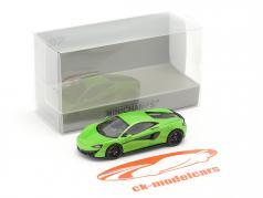 McLaren 570 S Baujahr 2016 grün 1:87 Minichamps