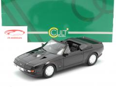 Aston Martin V8 Zagato Spyder Baujahr 1987 schwarz metallic 1:18 Cult Scale