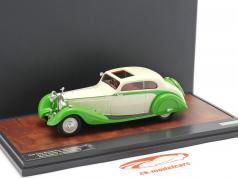 Rolls Royce Phantom II Continental Sports Coupe 1935 green / cream 1:43 Matrix
