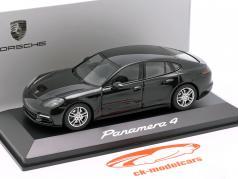 Porsche Panamera 4 (2. Gen.) Año 2017 negro metálico 1:43 Herpa