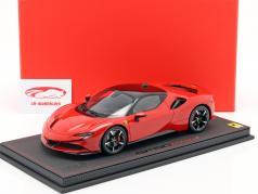 Ferrari SF90 Stradale Anno di costruzione 2019 corsa rosso / nero 1:18 BBR