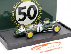 Jim Clark Lotus 25 #1 Champion du monde Belgique GP formule 1 1963 1:43 Brumm