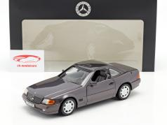 Mercedes-Benz 500 SL (R129) ロードスター 1989-1995 生まれた メタリック 1:18 Norev