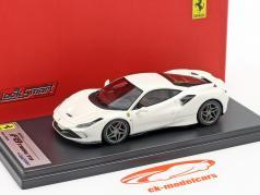 Ferrari F8 Tributo Byggeår 2019 fuji hvid 1:43 LookSmart
