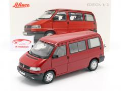 Volkswagen VW T4b Westfalia camper rojo 1:18 Schuco