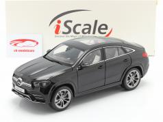 Mercedes-Benz GLE Coupe (C167) 2020 obsidian sort metallisk 1:18 iScale