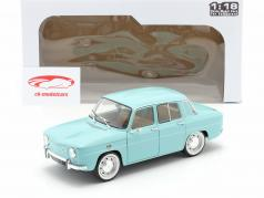 Renault 8 Major year 1967 light blue 1:18 Solido