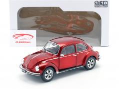 Volkswagen VW Besouro 1303 Ano de construção 1974 custom vermelho 1:18 Solido