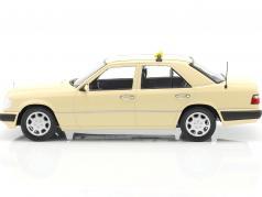 Mercedes-Benz Eクラス (W124) 建設年 1989 タクシー 1:18 iScale