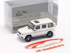 Mercedes-Benz Classe G (W463) Ano de construção 2018 Branco metálico 1:87 Minichamps