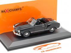 Volkswagen VW Karmann Ghia Cabriolet 1955 black 1:43 Minichamps