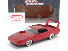 Dodge Charger Daytona År 1969 Fast and Furious 6 2013 rød 1:24 Jada Toys