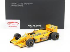Ayrton Senna Lotus 99T #12 2 ° Giappone GP formula 1 1987 1:18 AUTOart